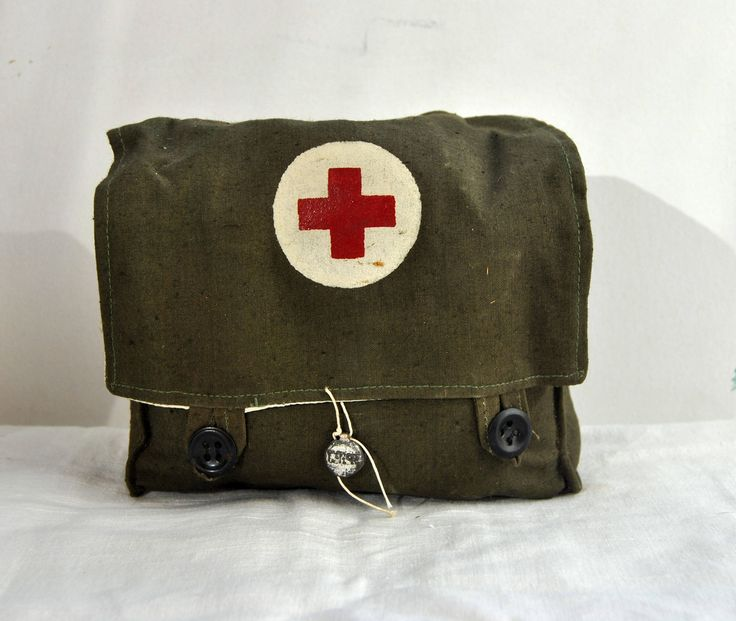Original Military first-aid kit. Vintage. USSR. 1956 by VintageParsel on Etsy