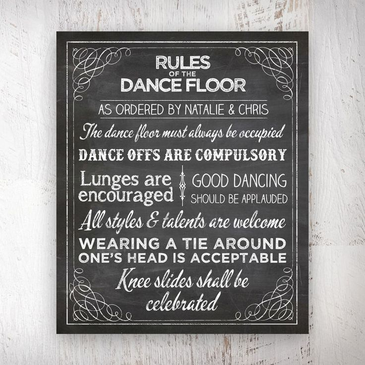 1000+ Ideas About Dance Floor Rules On Pinterest
