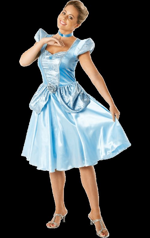 Volwassen Disney Droom Assepoester Kostuum Vrouw