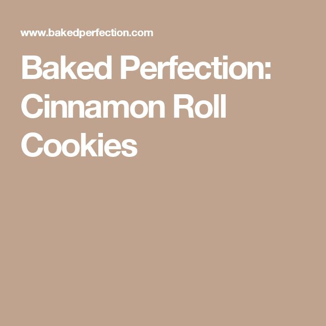 Baked Perfection: Cinnamon Roll Cookies