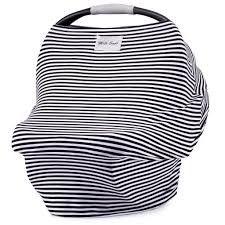 Milk Snob® Cover - Cosmo Black and White Stripes