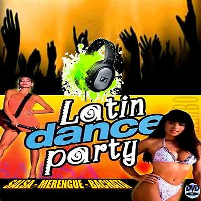 The Ultimate Latin Dance Party -Non Stop Dj Video mix- Salsa/Merengue/Bachata +