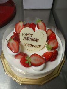 【誕生日に上司がプレゼント】アトリエミニョネットの「ショートケーキ」 神戸市灘区
