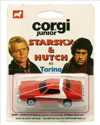 Junior HutchJouets70's 80's Starsky Corgi And rxeBWCoQd