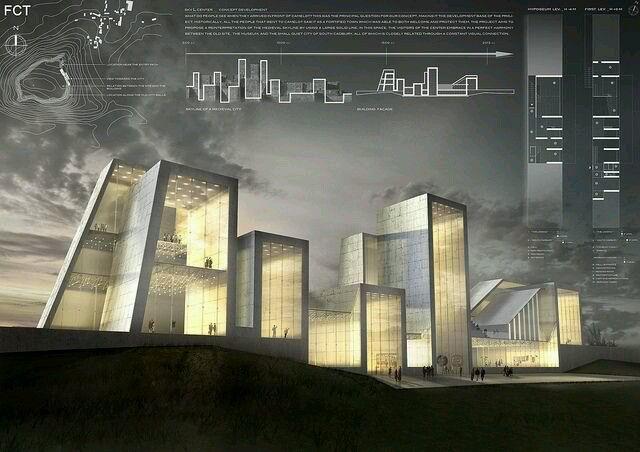 Cool Architectural Representation