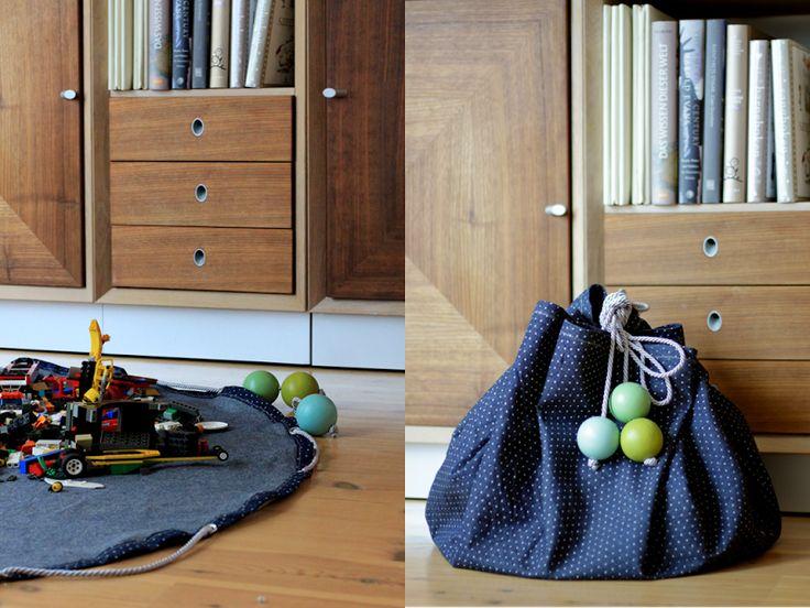 Legopose. Olastoff fra stoff og Stil.