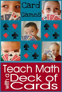 Pinner wrote: I adore teaching math with playing cards!  Come follow along this week as I show you some games that are the best!