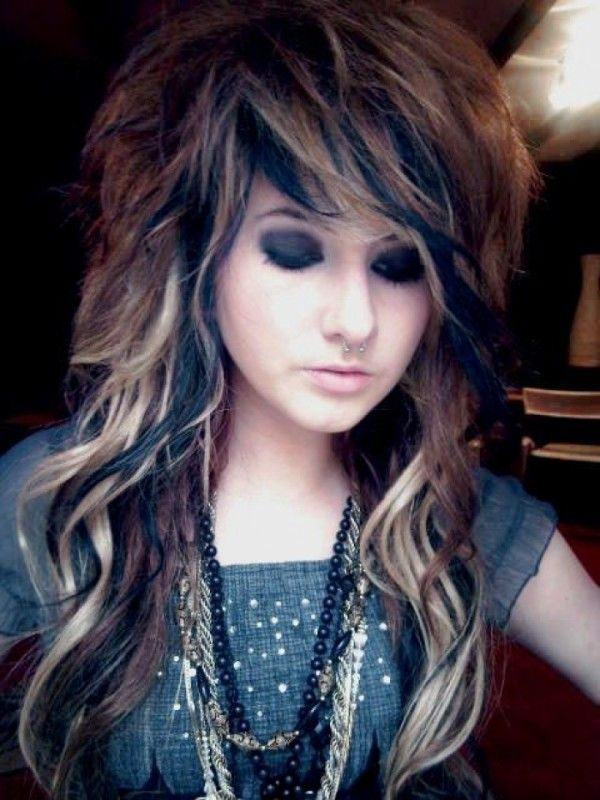 Scene Hair Color For Short Emo Hairstyles