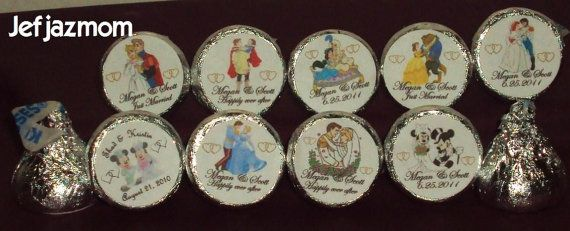 96 Custom Made Disney by partylabels4u on Etsy