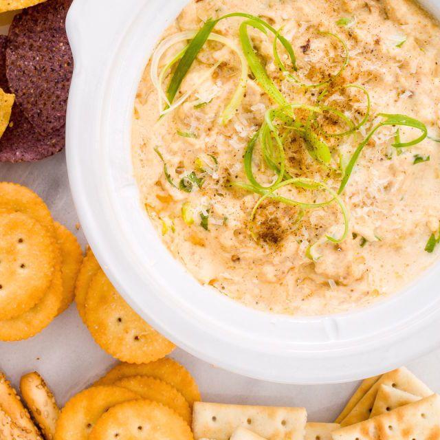 http://www.delish.com/cooking/recipe-ideas/recipes/a44678/slow-cooker-crab-dip-recipe/