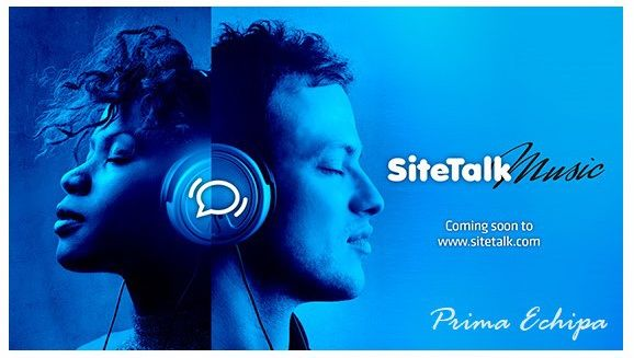 SITETALK MUSIC Anticipated to be launched within 4-6 weeks is a brand new service called Sitetalk Music. As a Sitetalk Member you will be able upon a monthly subscription to stream or download music to your PC, laptop, ipad and smart phones. This will be followed with Audio-Books, E- Books and Movies.