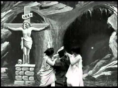 1st Religious Movie - The Temptation of St. Anthony (1898) [La tentation de Saint-Antoine] - Georges Melies