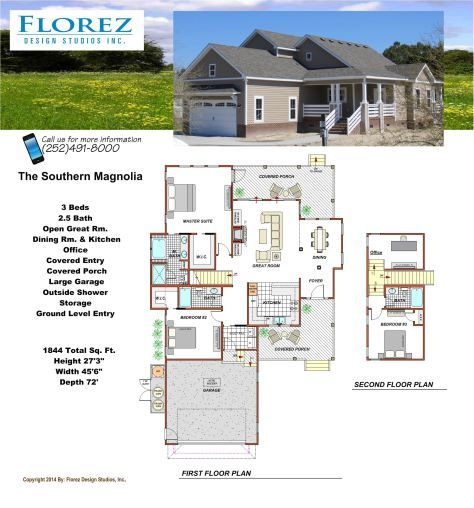 House plan southern house plan carolina house carolina for Southern style ranch home plans