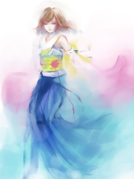 Yuna | Final Fantasy X #game #illustration