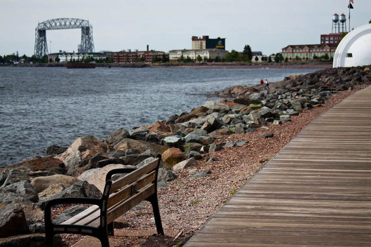 duluth mn | Just outside the Lodge is Duluth's famous wood planked 4.2 mile Lake ...