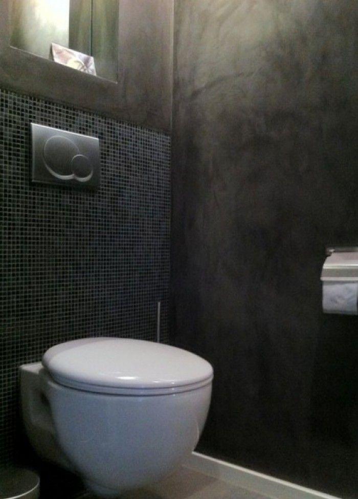 donkergrijze badkamers - Google zoeken