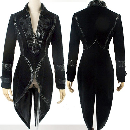 Gothic Velvet Coat. Perfect, but where you find it I have no clue lol.