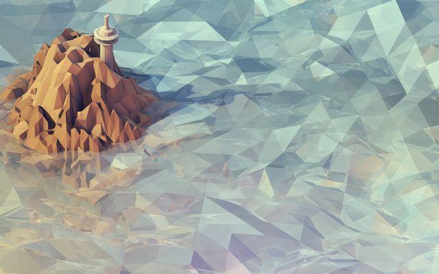 ため息が出るほど美しい「劣化ポリゴン3DCG」 Tim Reynolds | DDN JAPAN