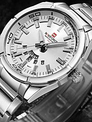 Men's Wrist watch Military Watch Fashion Watch Sport Watch Japanese Quartz Water Resistant / Water Proof Large Dial Punk Stainless Steel. Best cheap watches are cool watches too. You can buy best watches under 100 dollars. Very affordable watches and mens watch under 100. Best affordable watches - these are amazing watches below 100 bucks,  and affordable mens watches too.