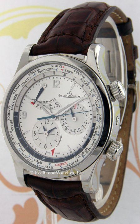 Jaeger-LeCoultre 146.8.32.S Master Geographic, Steel
