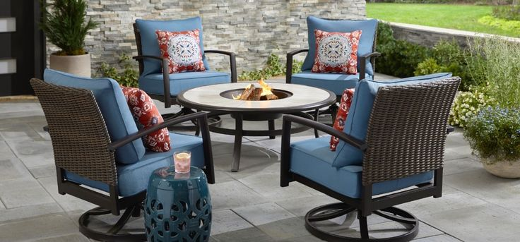 Outdoor Patio Chairs And Table Outdoor Patio Furniture Sets Outdoor Furniture Ideas Backyards Backyard Furniture