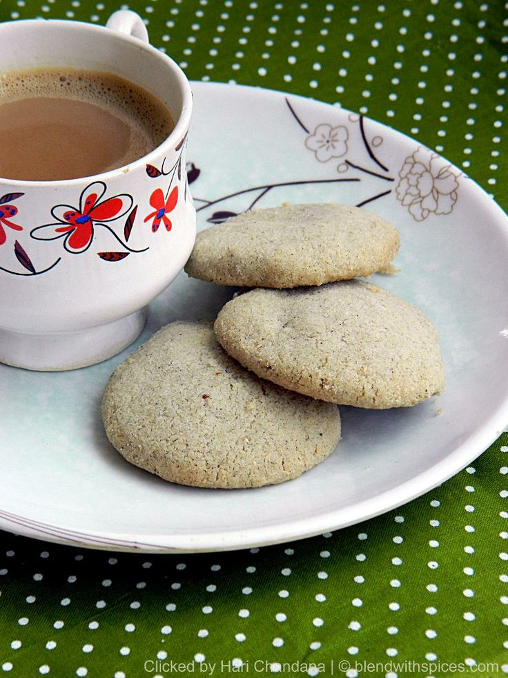 Pearl Millet and Almond Cookies.  RECIPE: http://www.blendwithspices.com/2013/04/pearl-millet-almond-cookies-recipe.html