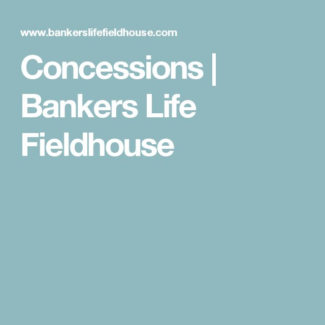 Concessions | Bankers Life Fieldhouse