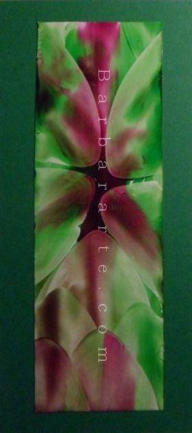 Toxic. Pintura encáustica sobre papel./ Toxic. Encaustic painting on paper