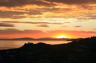 #sunset on the sea #Maremma #Tuscany pic. Giacomo Zavalloni