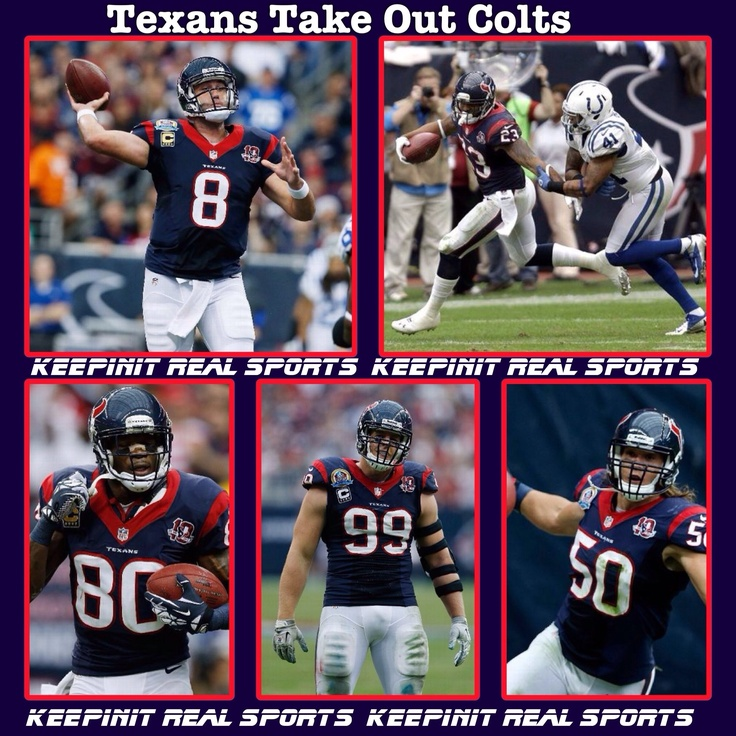 Keepinit Real NFL Stats: Colts - vs - Texans  Colts 17 (9-5, 3-4 away) Texans 29 (12-2, 6-1 home) FINAL  Top Performers Passing: M. Schaub (HOU) - 261 YDS, 1 TD Rushing: A. Foster (HOU) - 27 CAR, 165 YDS Receiving: A. Johnson (HOU) - 11 REC, 151 YDS, 1 TD