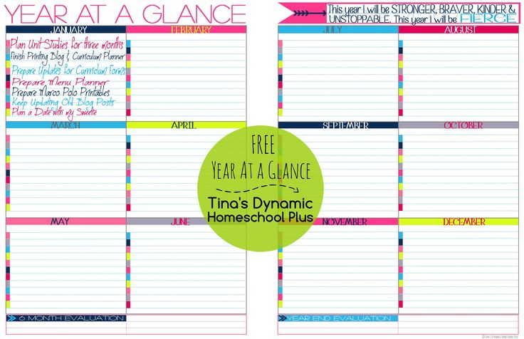 year at a glance template for teachers - 272 best homeschool planner images on pinterest
