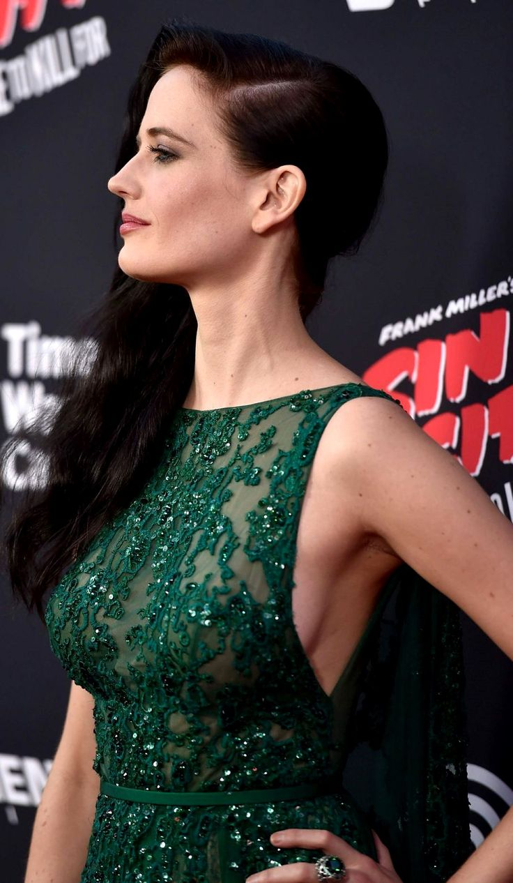Eva Green in ELIE SAAB HC Fall 2013 gown at the LA premiere of 'Sin City: A Dame to Kill For' - Aug. 19th 2014