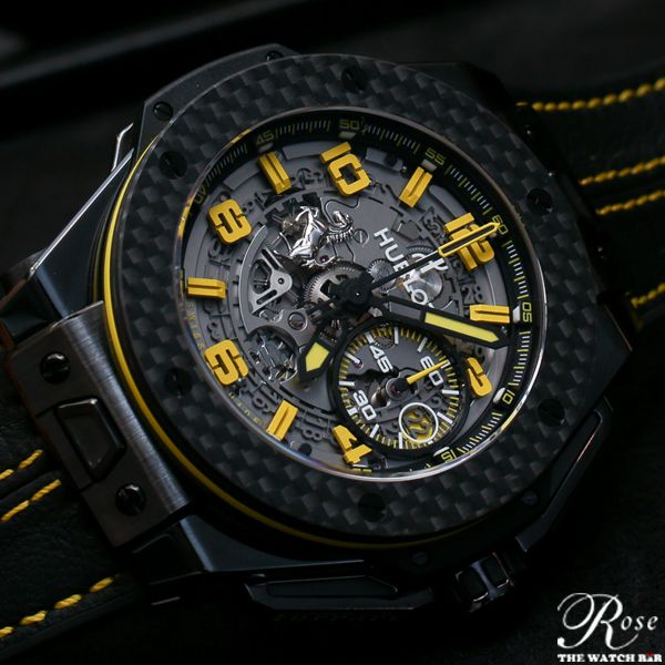 Hublot Genève and Ferrarii will enter their fourth year of supreme partnership by introducing new watch models in Ceramic, Titanium And Gold.  Read the full story here - http://www.ablogtowatch.com/hublot-big-bang-ferrari-new-watch-models-2014-hands/2/ #ABlogToWatch #RTWBEye #Hublot