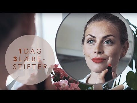 1 dag 3 læbestifter // Smashbox Be Legendary // Emma Martiny - YouTube