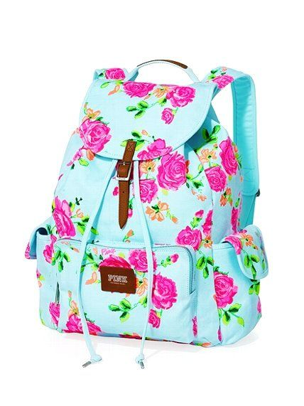 When I saw this backpack I fell in love with it the colors are so bright and I love bright colors!!!