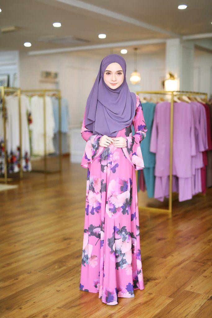 - Fabrics : 100% Printed Moss Crepe / Pink + Multi Colour - Loose Dress Cutting - Ruffle Sleeves - Back Zip Fastening & Nursing Friendly - Maternity Friendl