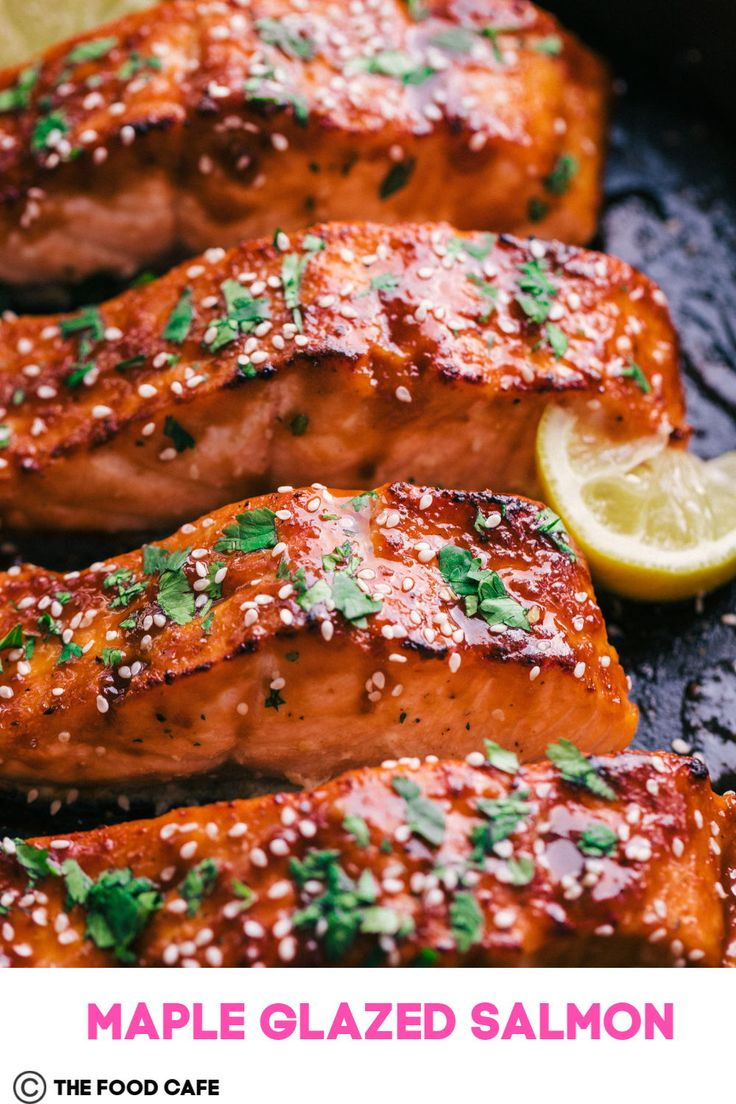 Jul 15, 2020 – All you salmon lovers be prepared to fall in love, this Maple Glazed Salmon recipe is about as easy as th…