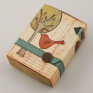 recycled matchbox! …