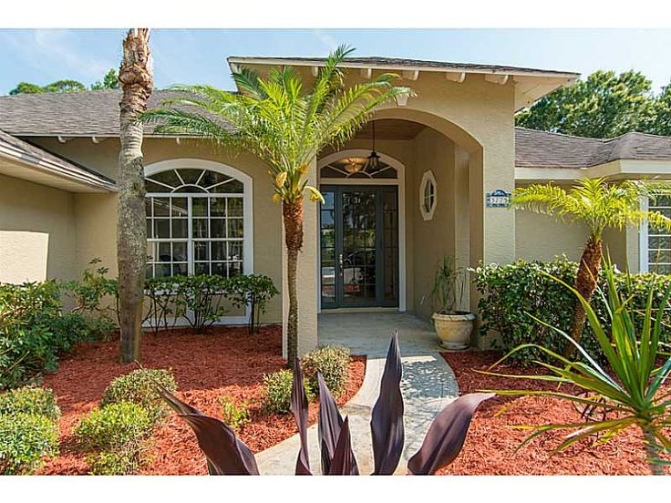 Woodbridge Estates is a gated community ideally situated in Central Vero Beach off 8th Street east of 43rd Ave. Luxury awaits! Enjoy fine finishes, soaring ceilings, open home design, split bedrooms, and an amazing private back yard with pool, screened porch and deck areas made for entertaining. Room sizes approx & subject to error.