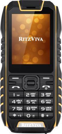 Ritzviva R240 (черно-желтый)  — 2990 руб. —  Мобильный телефон Ritzviva R240 имеет корпус с уровнем защиты IP68. Он устойчив к ударам, падениям, попаданию на его поверхность пыли и брызг влаги и к погружению на глубину более 1 метра. Кроме того, малый вес позволяет ему удерживаться на поверхности воды – благодаря этому пользователь может без труда вернуть случайно упущенное устройство. Многофункциональность. В телефоне имеется мультимедийный плеер, способный воспроизводить аудио и видео в…