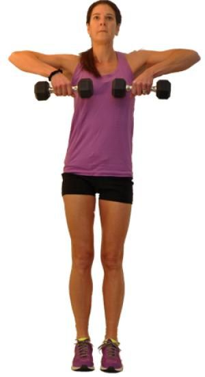7 Great Shoulder Exercises That Give You Strong, Shapely Shoulders: Upright Row