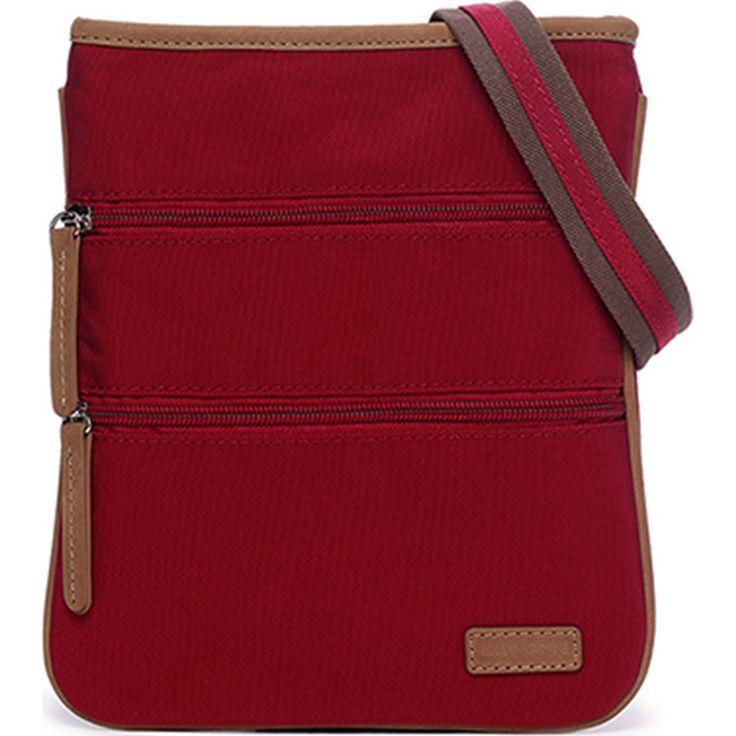 Ellington Handbags Heidi Crossbody in red- eBags.com $59 -- like this style