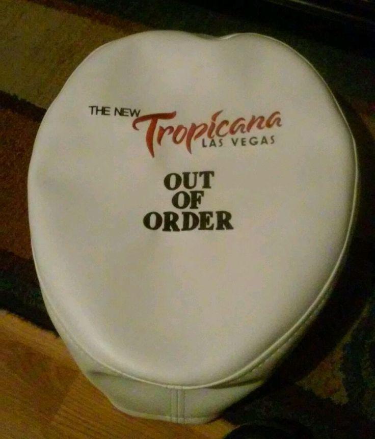 TROPICANA HOTEL CASINO LAS VEGAS, NEVADA VINTAGE TOILET SEAT COVER!  | eBay