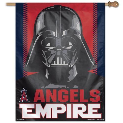 "27"""" x 37"""" Vertical Star Wars Los Angeles Angels LA House Flag"