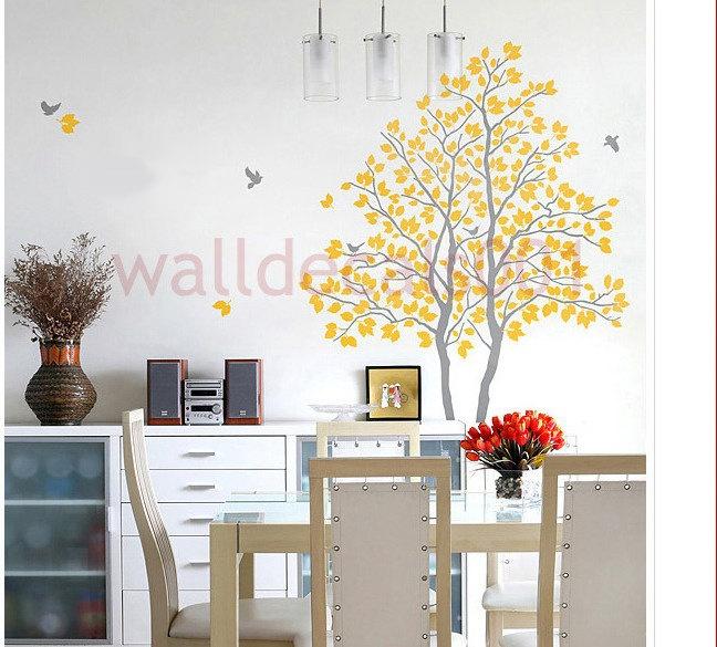 Best Wall Art Images On Pinterest Vinyl Wall Decals Tree - Wall decals birdsbirds couple on branch wall decal beautiful bird vinyl sticker