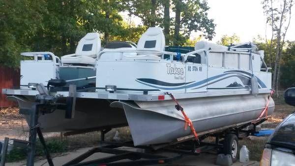 En venta de Ocasión Pontoon Boat Tahoe Grande Fisher 21 de 1990