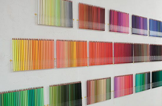 Felissimo pencil organiser, who need wall art when you can you your tools