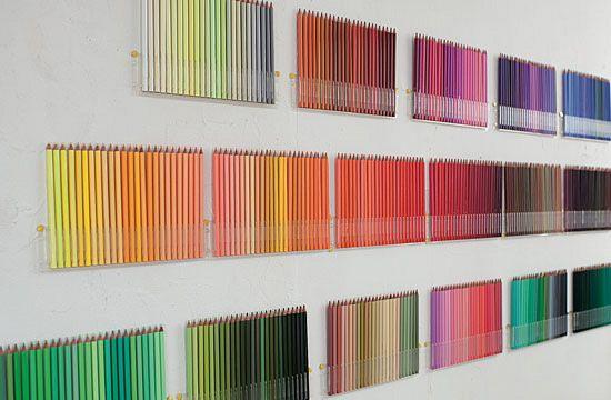 Muro de lápices