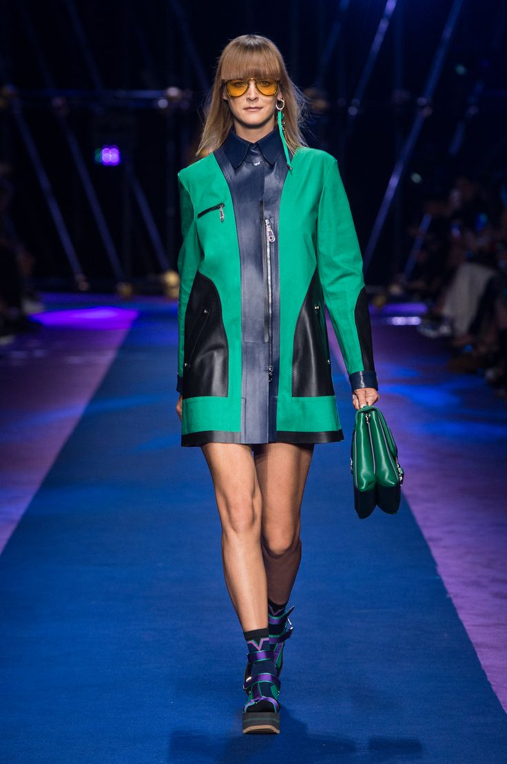 Donatella Versace In Versace Show