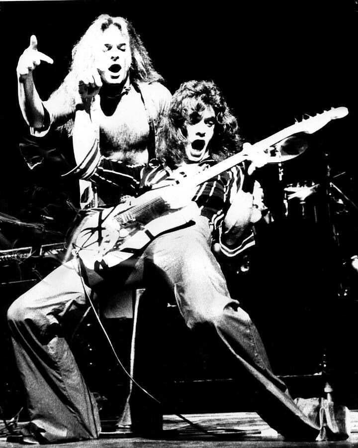 Eddie Van Halen and David Lee Roth...................